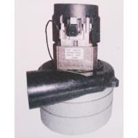 Háromfokozatú tangenciális motor porszívókhoz